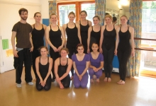2010 Dance Spinner Workshop with Matthew Bourne's Cast Member